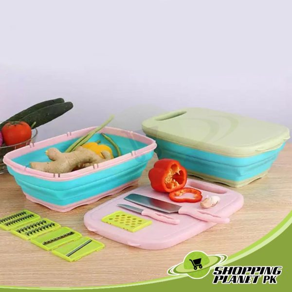 9 in 1 Multi Functional Cutting Board In Pakistan۔