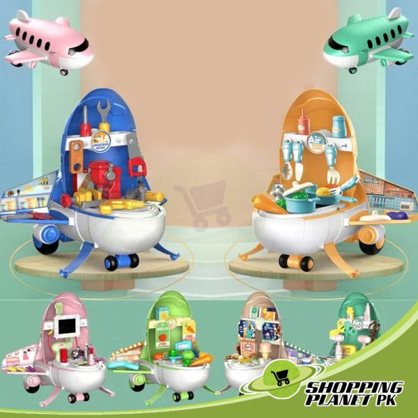 Airplane Play Set Toy For Kids3