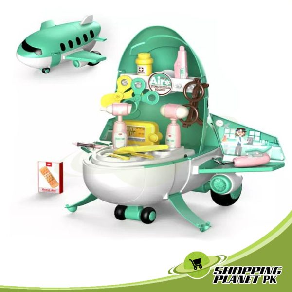 Airplane Play Set Toy For Kids5