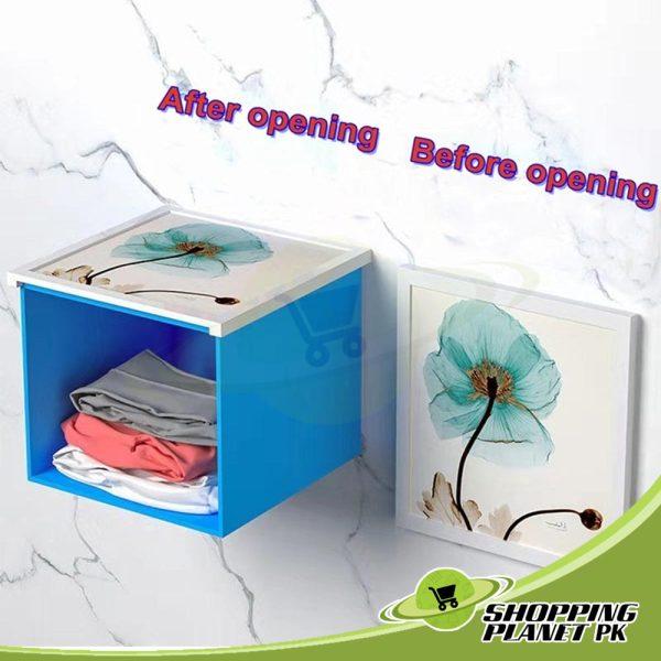 Bathroom Folding Storage Cabinet1