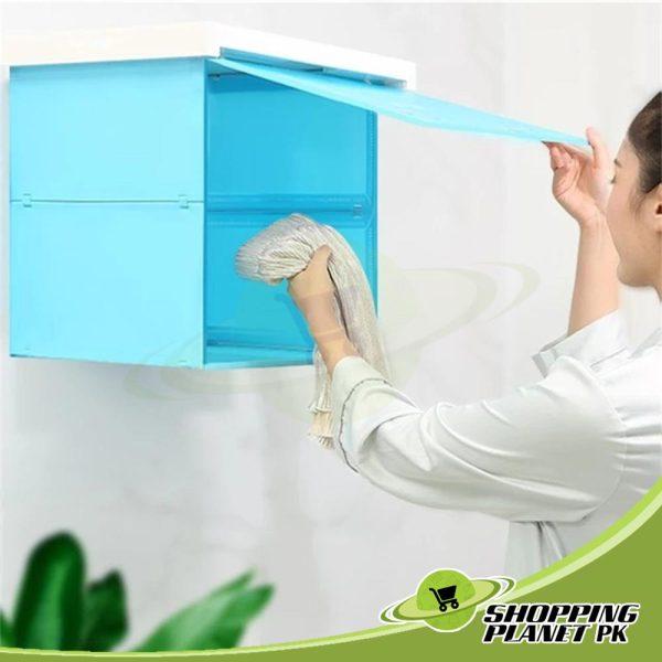 Bathroom Folding Storage Cabinet2