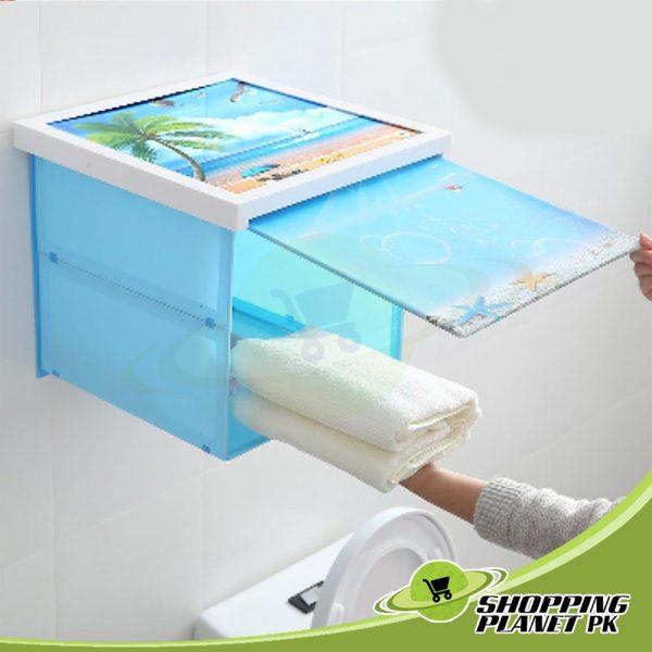 Bathroom Folding Storage Cabinet3