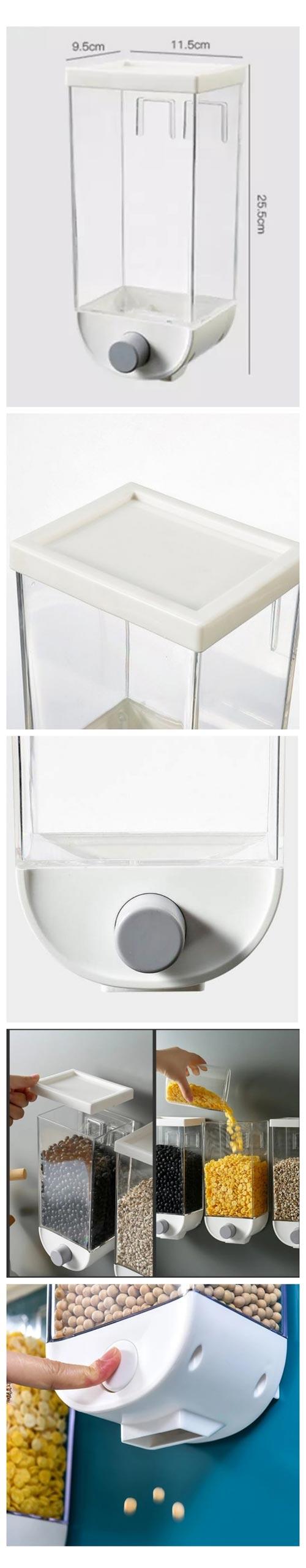 Best Grain Dispenser For The Kitchen