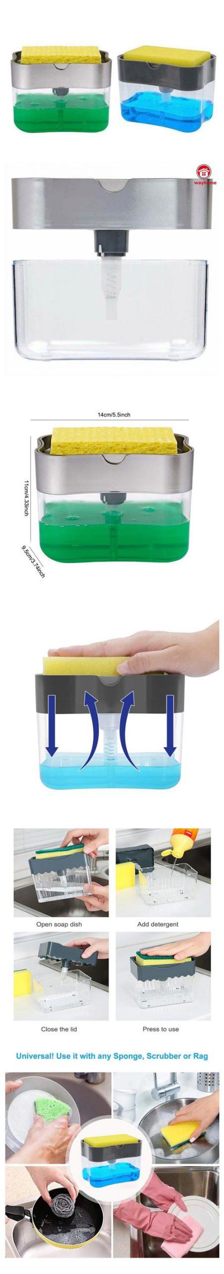 Soap Pump And Sponge Dispenser In Pakistan