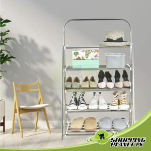 Stainless Steel Folding Shoes Rack In Pakistan