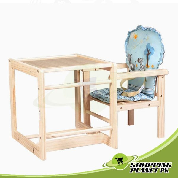 2 in 1 Wooden High Chair For Baby2