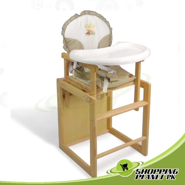 2 in 1 Wooden High Chair For Baby3