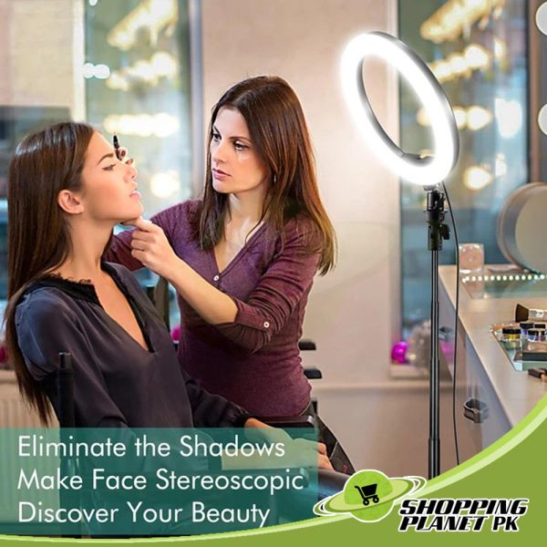 26 Cm Ring Light With Stand In Pakistan00