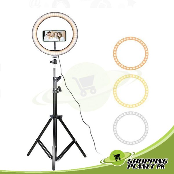 26 Cm Ring Light With Stand In Pakistan1