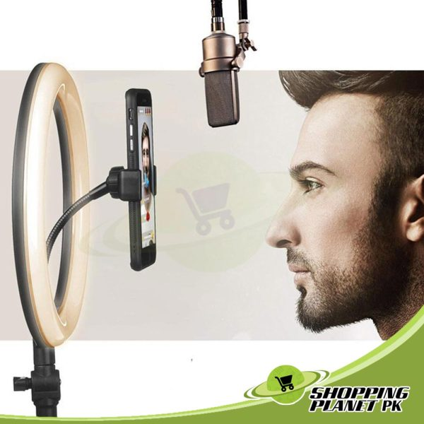 26 Cm Ring Light With Stand In Pakistan5