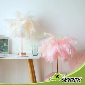 Feather Tree Table Lamp In Pakistan