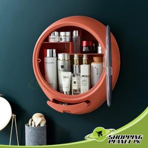 Round Shape Bathroom Storage Box
