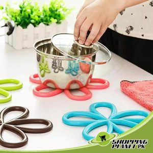 Silicone Flower Table Mat In Pakistan