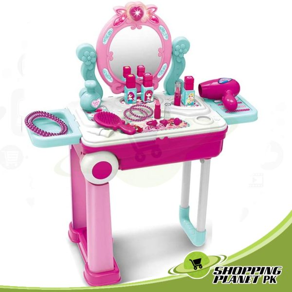 2 In 1 Dressing Table For Girls1