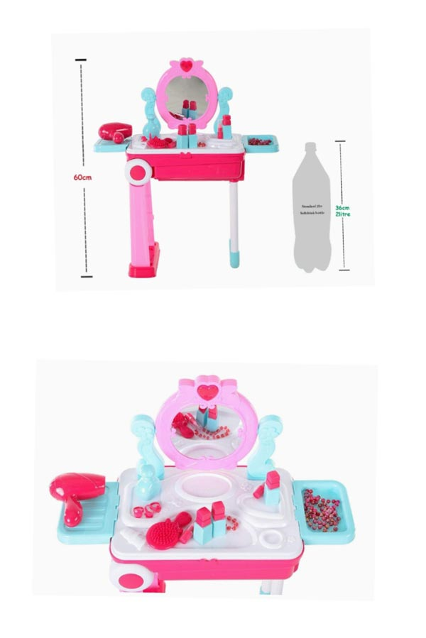 2 In 1 Dressing Table For Girls