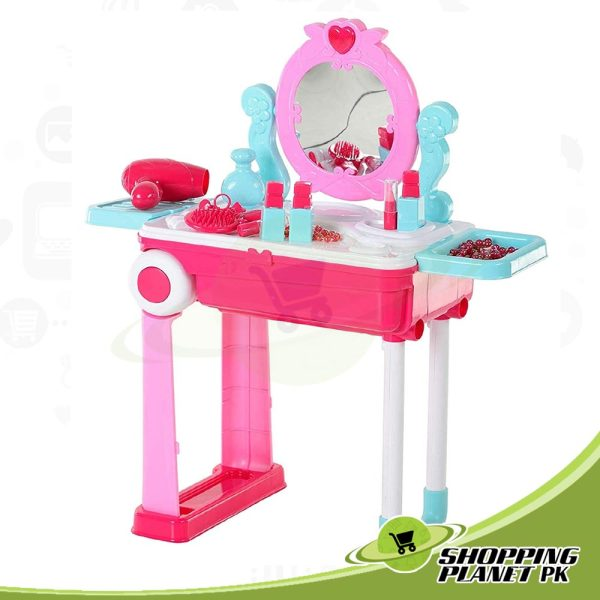 2 In 1 Dressing Table For Girls2