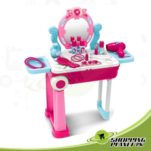 2 In 1 Dressing Table For Girls3