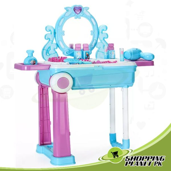 2 In 1 Dressing Table For Girls4