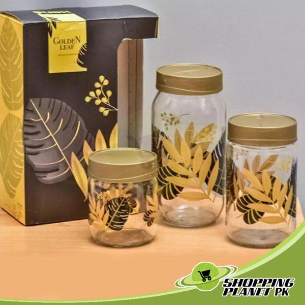 3 Piece Glass Jar Set2