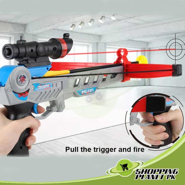Bow And Arrow Toy Gun For Kids3