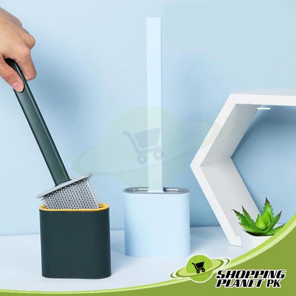 Silicone Toilet Brush And Holder