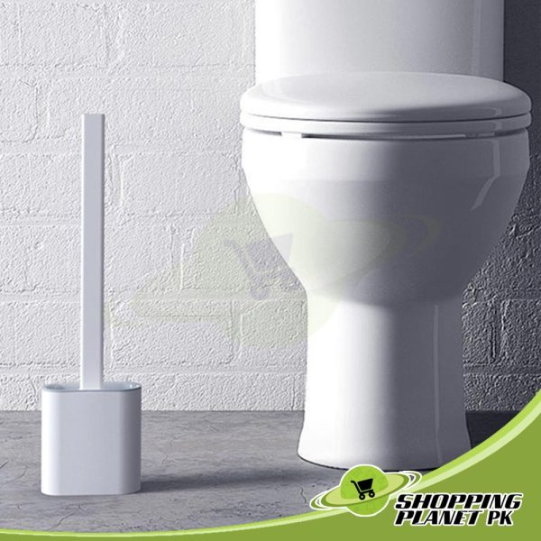 Silicone Toilet Brush And Holder1