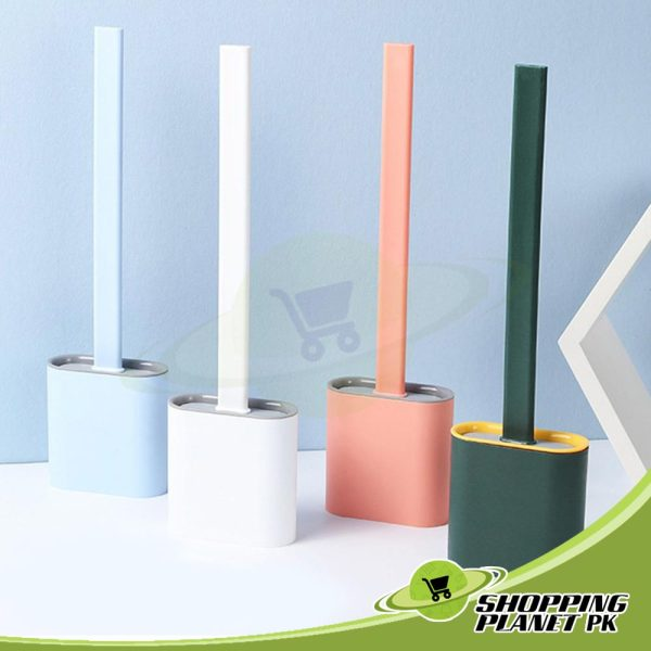 Silicone Toilet Brush And Holder2