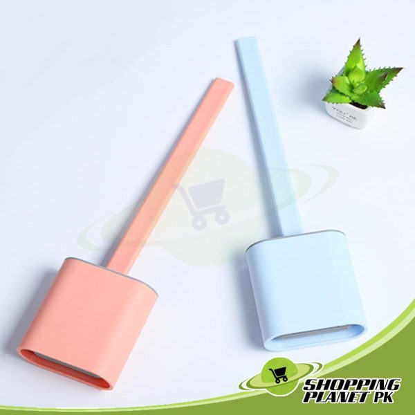 Silicone Toilet Brush And Holder5