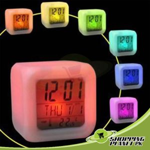 New Glowing Digital Clock