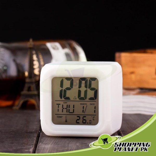 New Glowing Digital Clock2