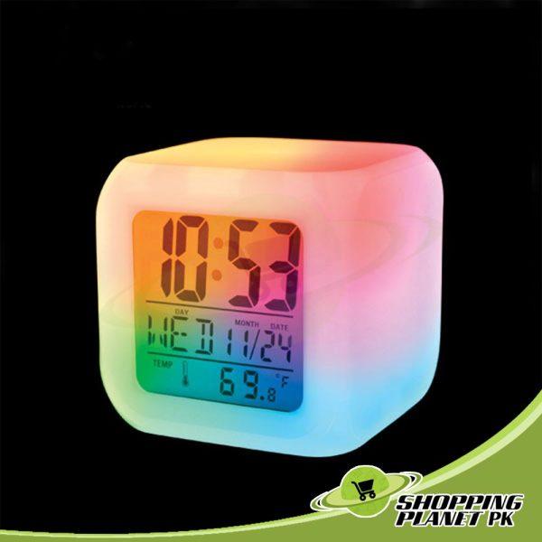 New Glowing Digital Clock3