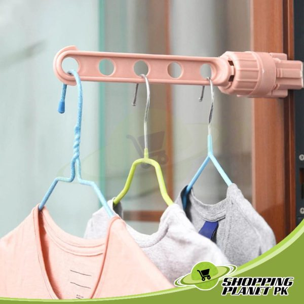 Portable Window Drying Hanger