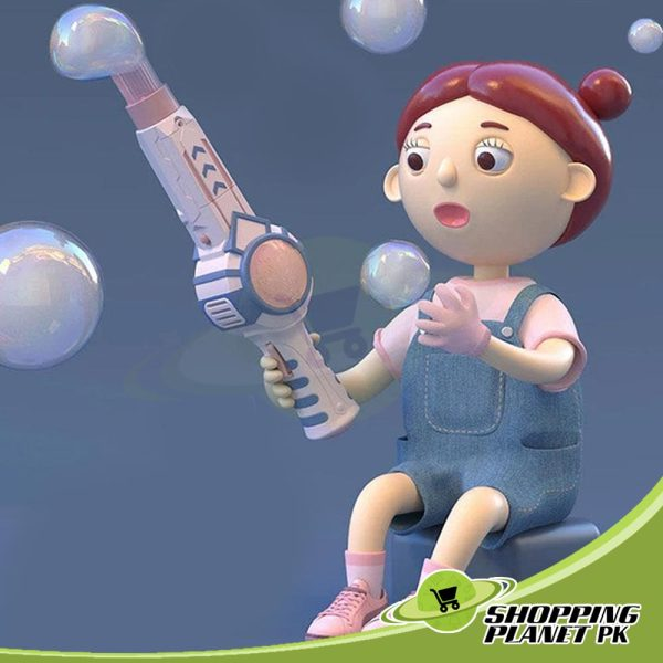Smoke Bubble Machine Toy4