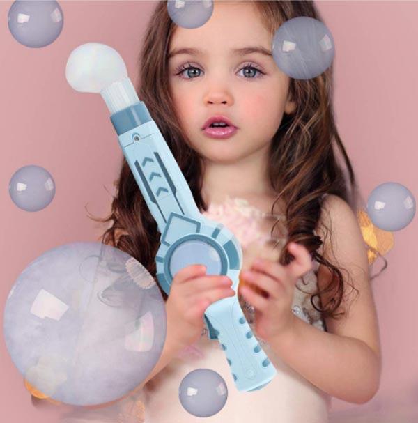 Smoke Bubble Machine Toy