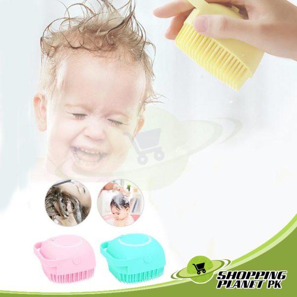 Soft Silicone Bath Brush1