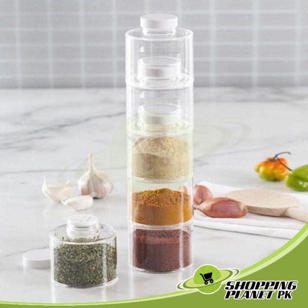 12 Spice Jar Set 3