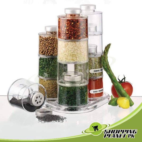 12 Spice Jar Set
