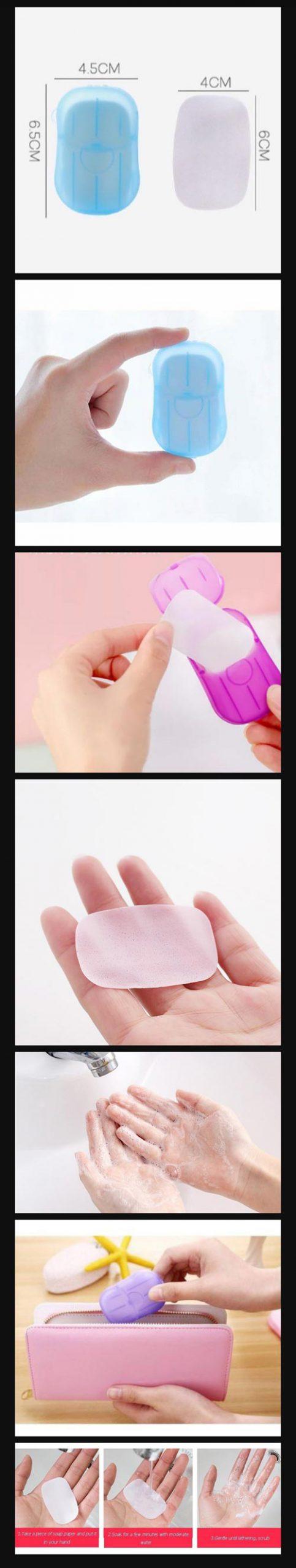 New Paper Soap