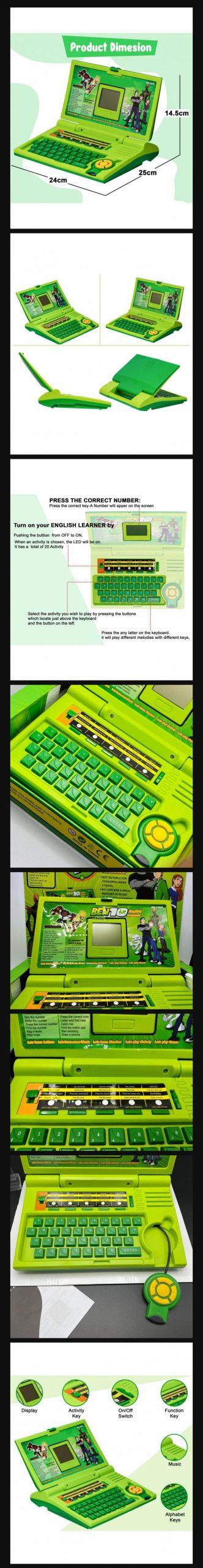 Ben 10 Kids Laptop Toy