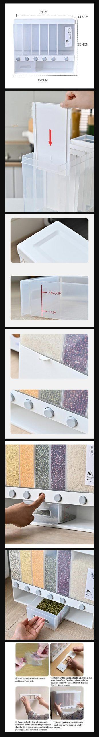 Food Dispenser For Kitchen