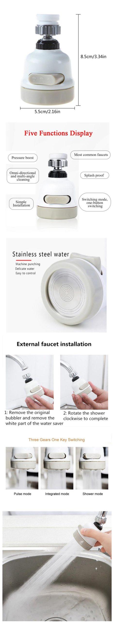 360 Rotating Faucet