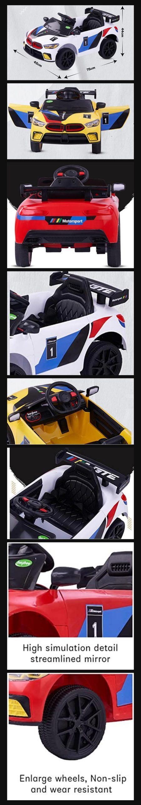 M8 Battery Car For Child
