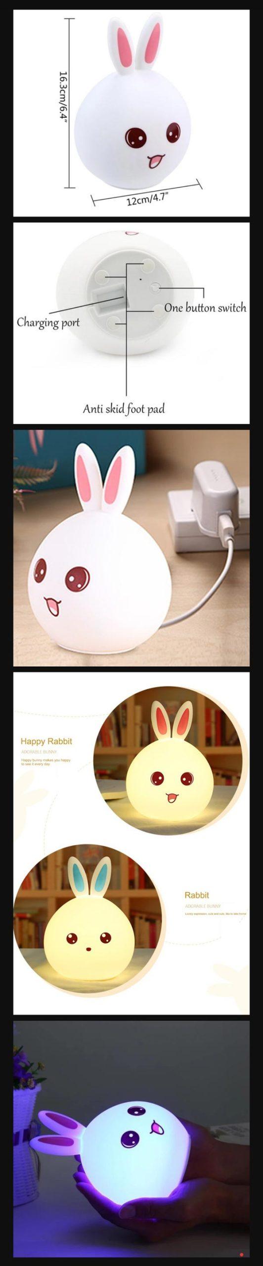 Rabbit Night Lamp