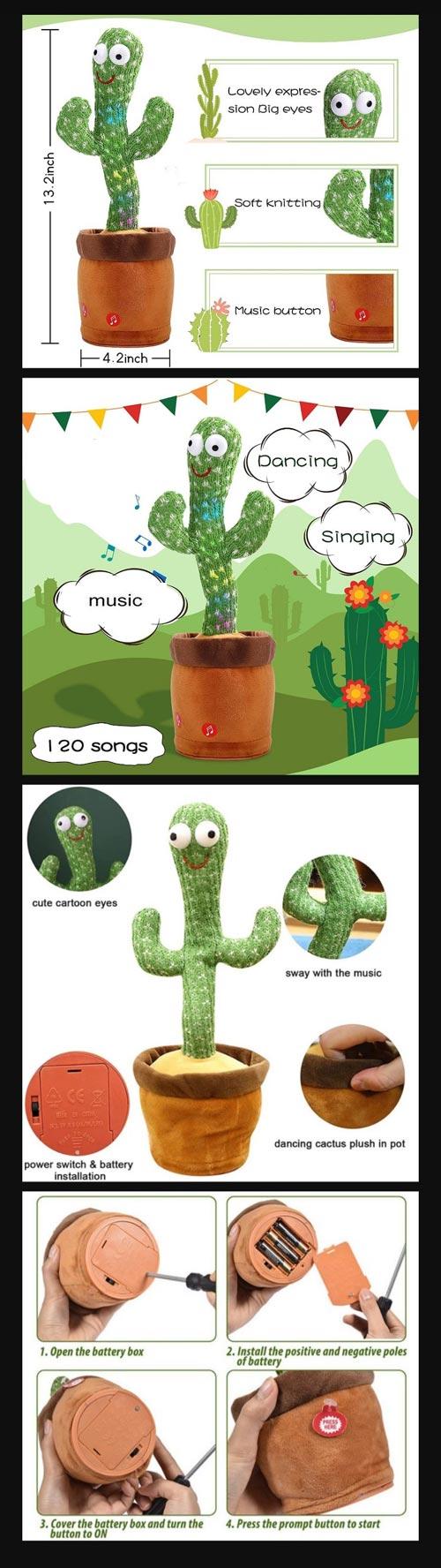 Dancing Cactus Toy In Pakistan