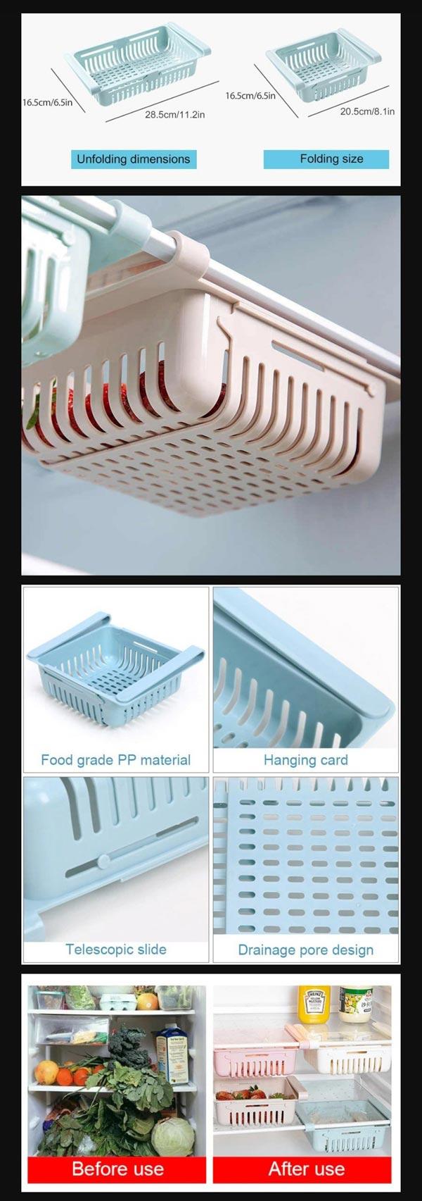 Fridge Storage Basket