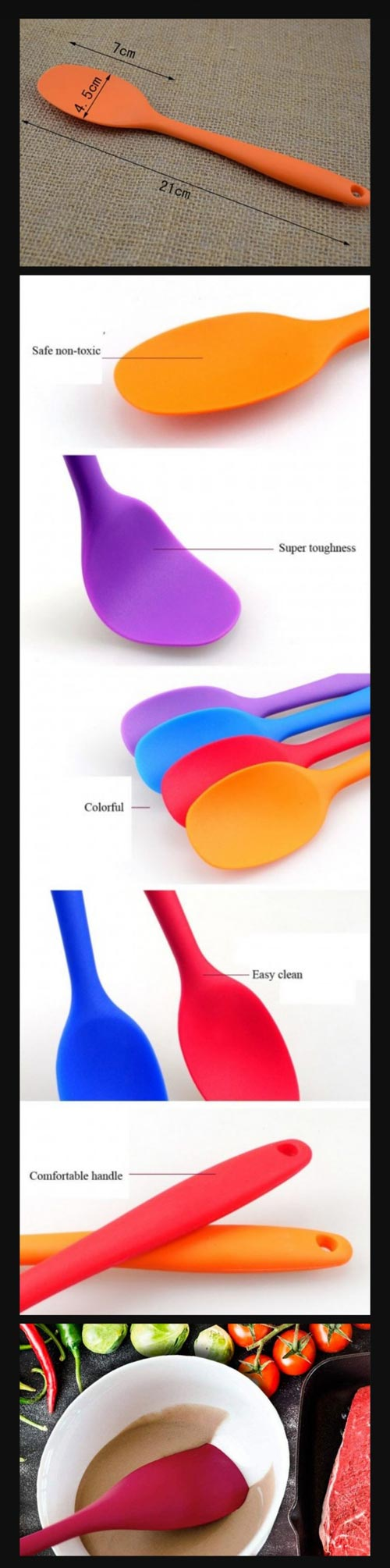 Silicone SpatulaSilicone Spatula For Baking Sale In Pakistan With In Best Price