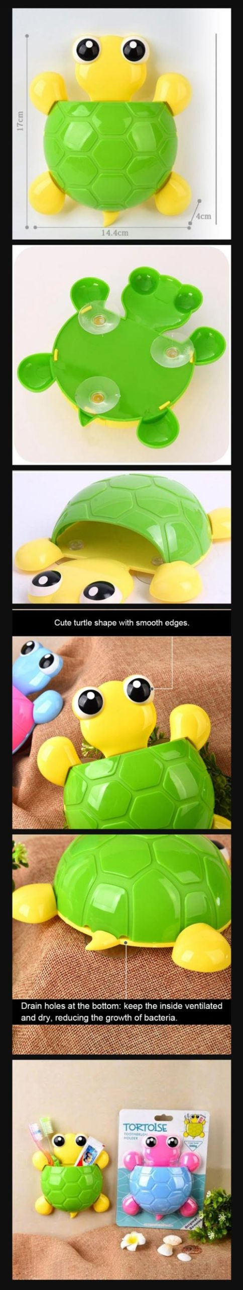 Turtle Toothbrush Holder